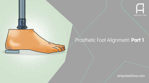 Prosthetic foot alignment can affect your entire gait and cause lower back pain.