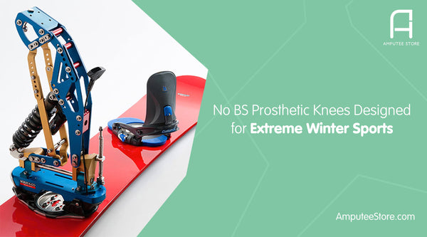 The B-Peg Snowboard Prosthetic Knees is perfect for adaptive athletes who are into the extreme winter sport.
