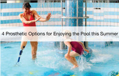 Enjoy the pool this summer with prosthetic options.