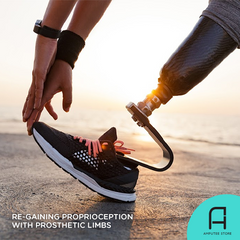 Amputees can re-gain their sense of proprioception with the AMI surgical technique.