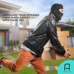 Tips on preventing porch pirates from stealing your packages.