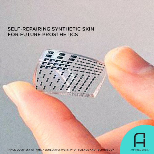 This synthetic skin that can repair itself up to 5000 times can be used in future prosthetics.