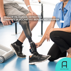 A sensor was found to accurately predict changes in prosthetic socket fit before they manifest.