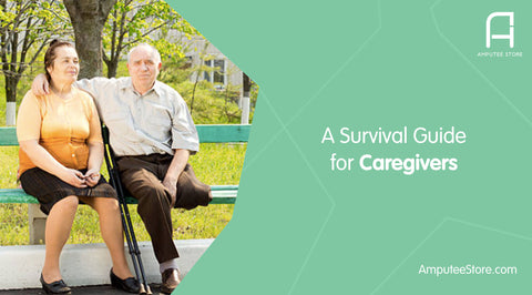 As a caregiver for an amputee, it's important to take breaks and care for oneself as well.