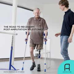 Watch out for these post-amputation milestones that are reliable signs of progress in your road to recovery.