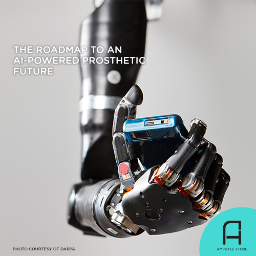 Artificial intelligence is crucial to the future of prosthetics.