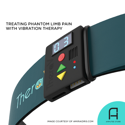 Vibration therapy is proven effective to relieve phantom limb pain.
