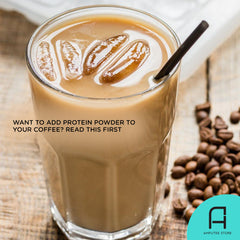 Adding protein powder in your coffee has benefits like improved workout performance.