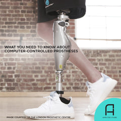 An introduction to computer-controlled prosthetic leg systems.