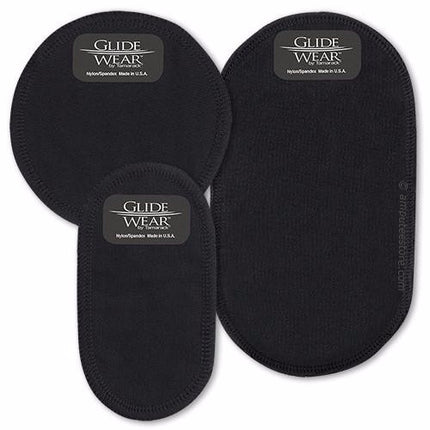 3 size options for glidewear liner prosthetic patch.