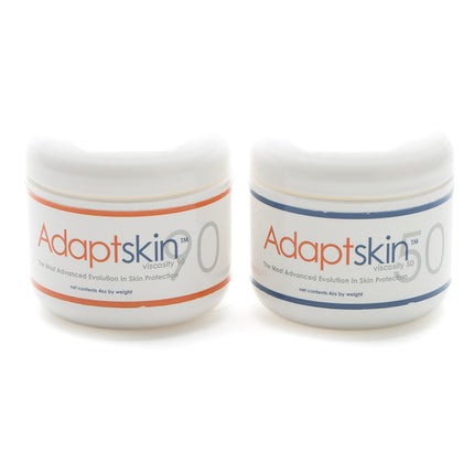 Adaptlabs Adaptskin 90 and 50 are used to relieve prosthetic socket skin issues.