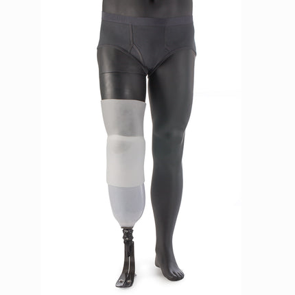 Alps Easysleeve super stretch prosthetic sleeve made with very stretchy and accommodating gel..