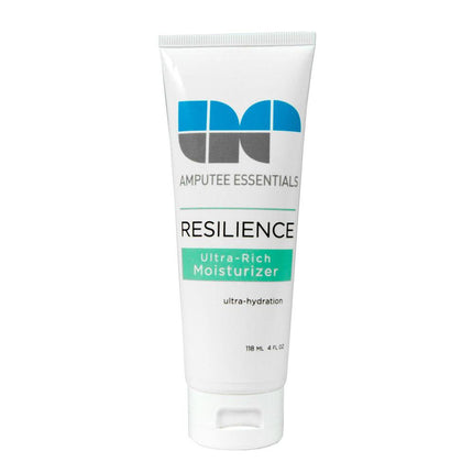 Prosthetic moisturizer for tight, red and dry skin after wearing prsothetic.