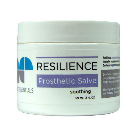 Amputee Essentials Prosthetic Salve for on-the-spot relief from rubbing or friction.