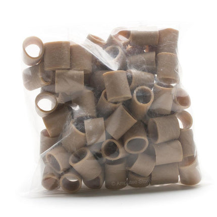 4 oz bag of prosthetic tension bands for arm amputee.