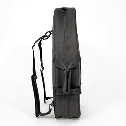 Adjustable straps and handles to travel with your prosthetic leg.