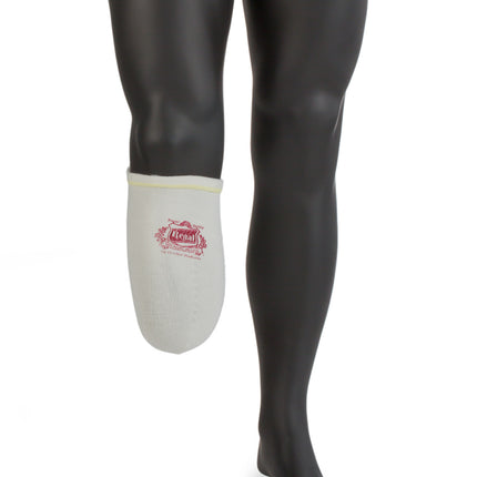 Comfort Regal Acrylic stretch stump sock in size medium short.