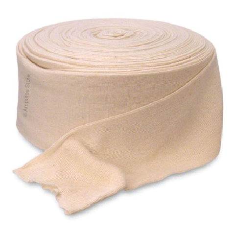 Cotton stockinette roll used for casting or as a pull sock for above the knee amputees whom use a suction socket.
