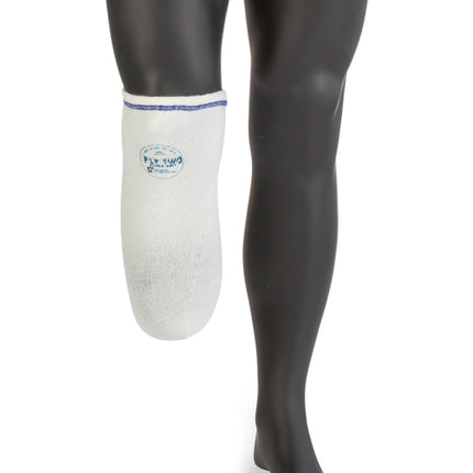 Comfort Products 2 Ply prosthetic sock that can wick perspiration away from the skin.