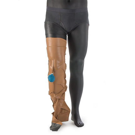 Dry Corp Dry Pro Waterproof prosthetic leg cover protects your prosthesis from water damage.