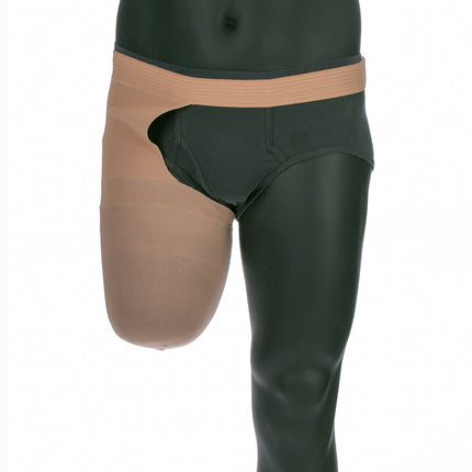 Juzo compression sock for above knee amputees to limit edema size short.
