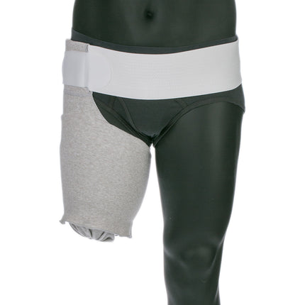 Knit Rite Above Knee Compressogrip Prosthetic Shrinker to reduce swelling and edema.  X-Static antimicrobial protection.