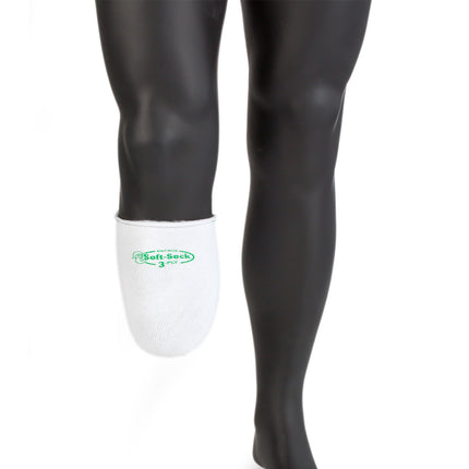Knit-rite sock sock with coolmax available in 3ply thickness to tighten your prosthetic socket.