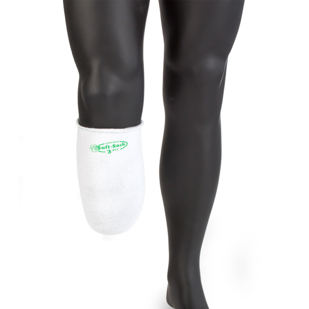 Knit Rite Soft Sock Coolmax Sweat Wicking Durable Amputee Store
