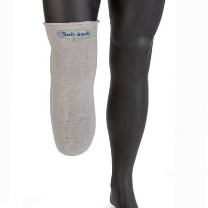 Knit-Rite Soft-Sock with x-static prosthetic sock eliminates odors and keeps your residual limb drier.