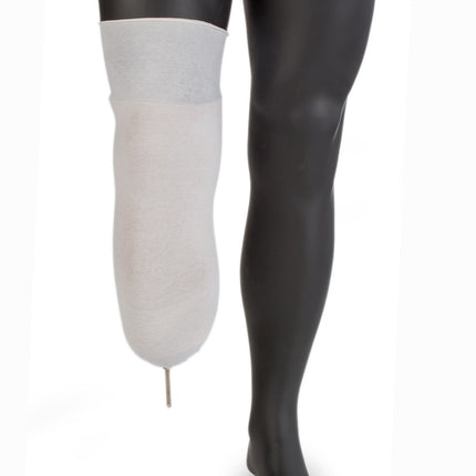 Knit-Rite Stretch spacer socks are available with a distal hole for pin lock prosthetic liners.