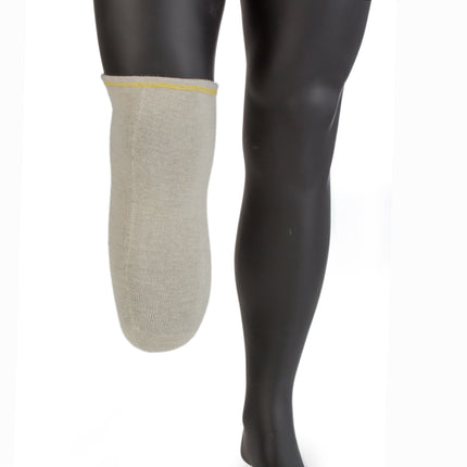 Knit-Rite X Wool Prosthetic Sock for below knee amputee in wool with size regular medium 3 ply.