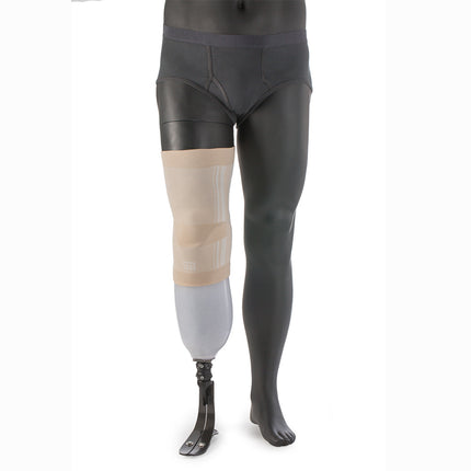 Ossur Genu prosthetic Sleeve designed for suspension of below knee prosthetic leg.