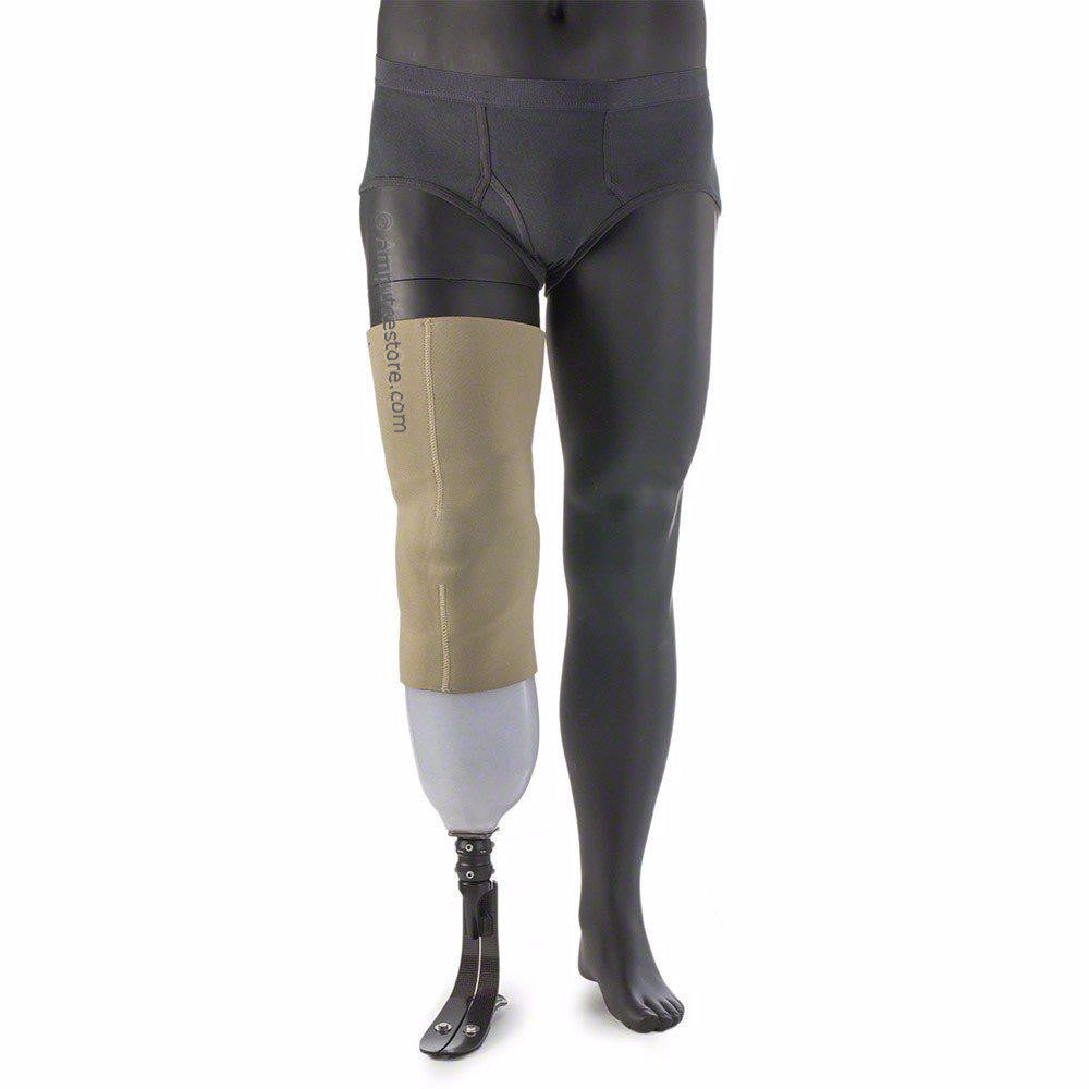 Syncor Durasleeve suspension sleeve is made with neoprene and designed for bk amputees.