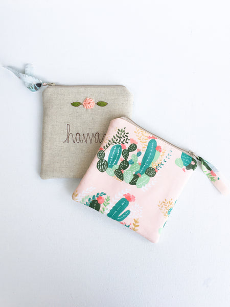 Personalized Fabric Wallet
