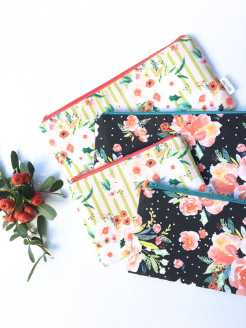 Christmas Zipper Pouches