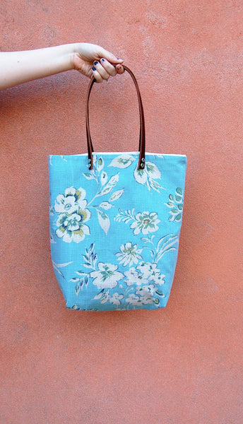 Travel Tote Bag - Blue