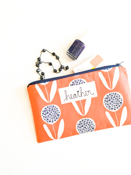 Personalized Name Label for Zipper Pouches