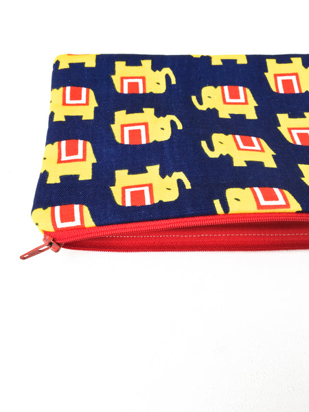 Elephant Zipper Pouch