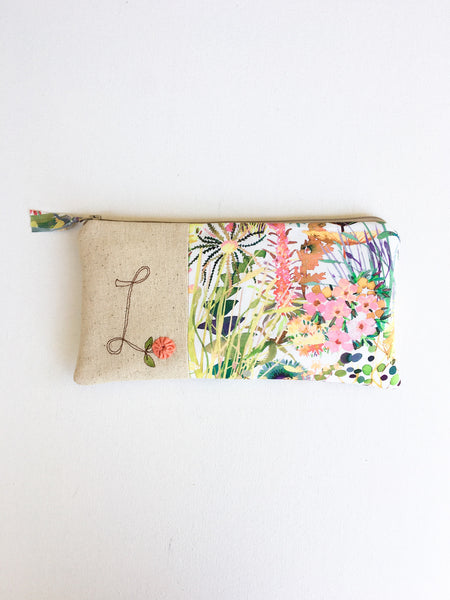 Monogram Bridesmaid Clutch