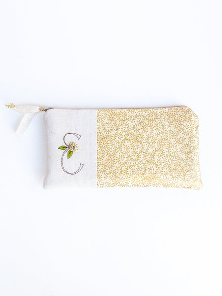 Gold Bridal Clutch