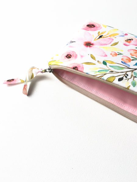 Inside View of Floral Clutch Gift for Her