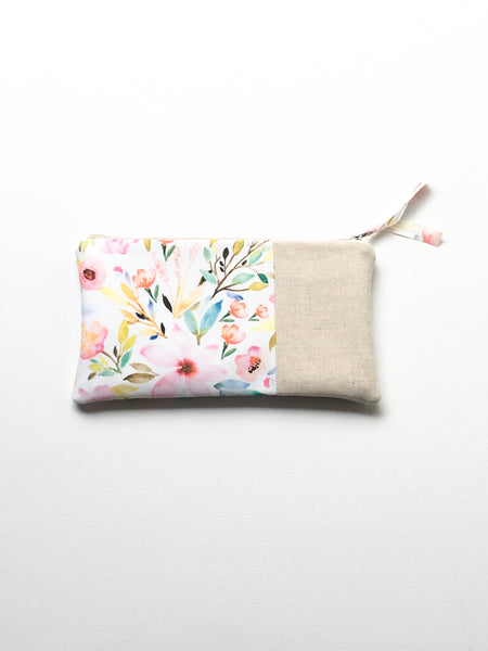 Back View of Floral Clutch Gift for Her