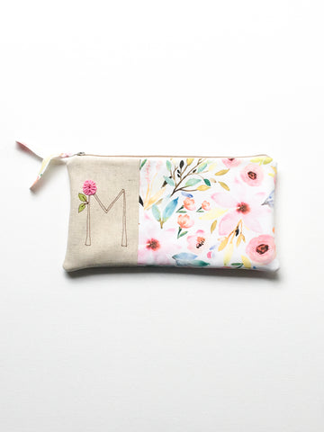 Floral Wedding Clutch