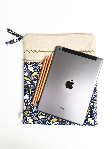 iPad Case - Vines and Florals