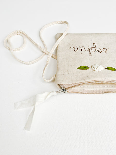 Flower Girl Crossbody Bag