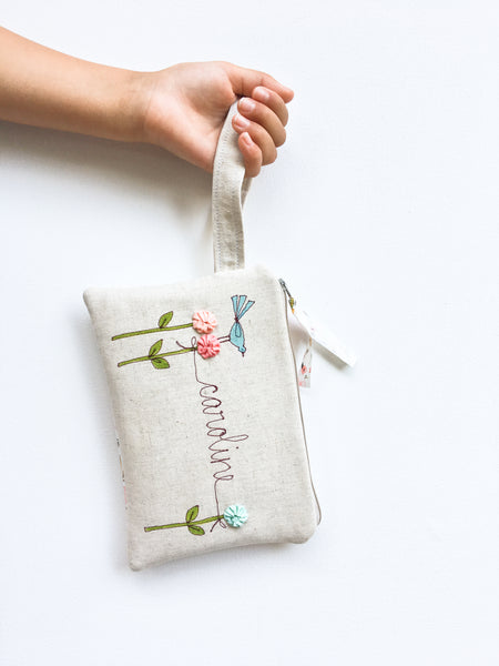 Flower Girl Personalized Bag