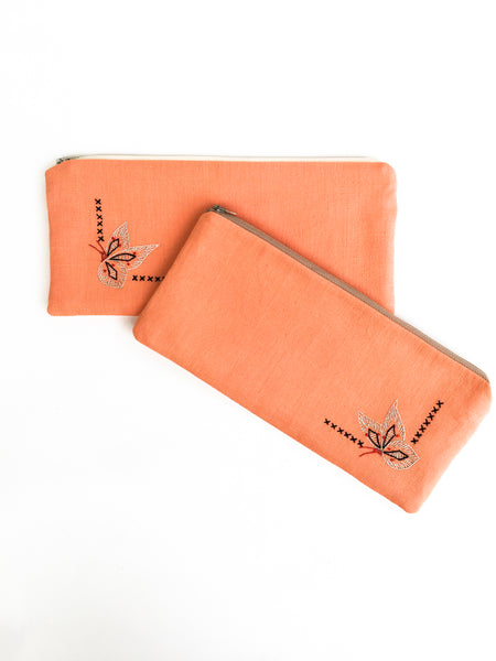 Butterfly Zipper Pouch