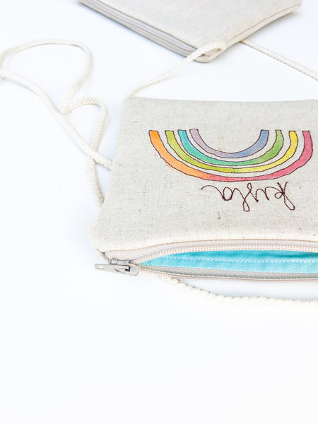Rainbow Crossbody Bag