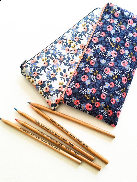 Rifle Paper Co Fabric Zipper Pouch
