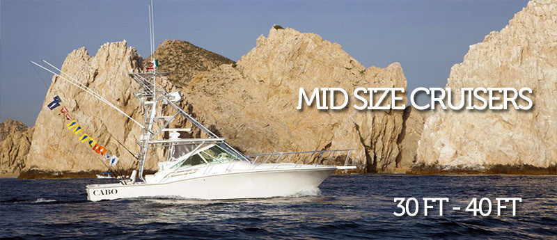 Mid Size Cruisers 31 ft to 40 ft